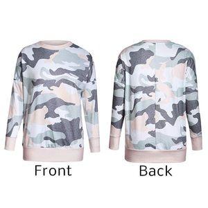 Tops - NEW Lightweight Camo Sweatshirt